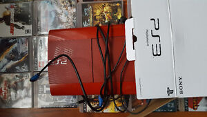 PS3 500MGB W/ 2 CONTROLLERS & 54 GAMES