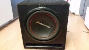 """Pioneer 12"""" Sub in custom case"""