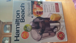 Juicer (Hamilton Beach) used only once!