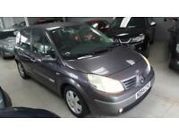 2004 RENAULT SCENIC DYNAMIQUE DCI Silver Manual Diesel