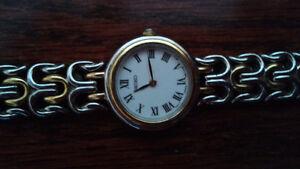 Seiko stainless steel women's watch