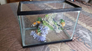 Fish Tank 5 Gal. and Accessorie