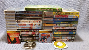27 PSP UMD Video Children's Movies,Great Hard to Find RARE Title