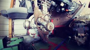 Vw air cooled motor