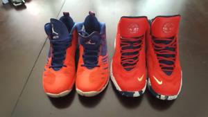 Jordan Superfly and Nike Anthony Davis Basketball Shoes