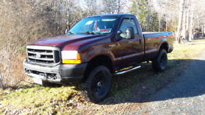 02 Ford super duty 4x4