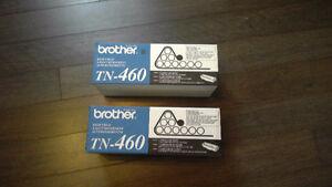 Deux cartouches d'encre Brother-460