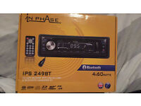 Car stereo in phase IPS 249BT