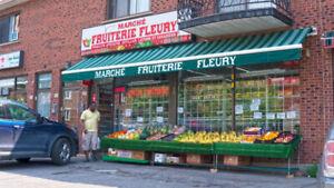 Fruiterie, Épicerie, Dépanneur a vendre. Opportunité a saisir !
