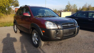 2005 Hyundai Tucson Safetied Etested