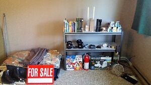 SUNDAY 1PM TO 4PM - INDOOR GARAGE SALE