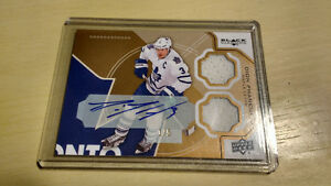 2012/13 Black Diamond Dion Phaneuf Jerse/Auto/#1of5
