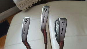 Tommy Armour 845's Oversized Irons #6 #8 and Pitching Wedge R/H Peterborough Peterborough Area image 4