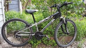 kids mountain bike, 26 inch frame excellent condition