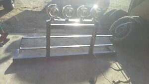 Back Rack with Auxiliary Lights