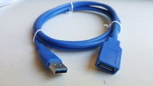 5ft (1.5m) USB 3.0 Extension Cable A-A M/F