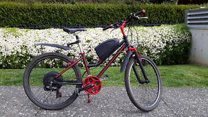 Miele alum frame bike with Bionx electric motor system