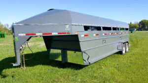 2018 Real Industries Livestock Trailers
