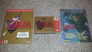 Selling Collectors Edition Zelda Ocarina of Time and Extras!