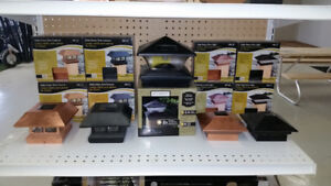 Assorted Solar Lights for Posts