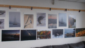 Photography on display by Ken Guitard. Wyse Buys 902 464 0010