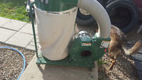 Canwood Dust collector and pipe