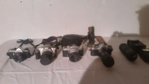Vintage cameras priced to sell