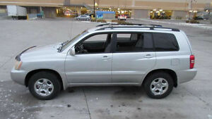 2002 Toyota Highlander, 4WD, Automatic,3 Year warranty available