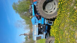 Ford 7700 tractor.