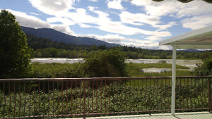 Beautiful bright 2bdr apartment with STUNNING views close to VIU