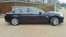 2010 60 Reg BMW 520 2.0 SE BUSINESS EDITION WITH SAT AND NAV BLACK AUTOMATIC
