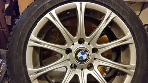 BMW Dunlop 205/55R16 Winter with RIMS (4 tires)