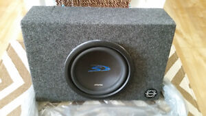 Car stereo sub-woofer box