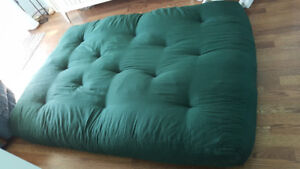 New green futon mattress for sale