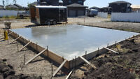 Red Deer area Concrete specialists. Summer is short, book now!
