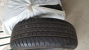 2 set of GT radial Tires P265/60R 18 was used on Infiniti Fx