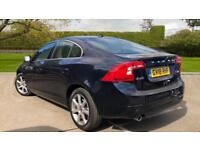 2018 Volvo S60 D3 SE Lux Nav Auto With Rear P Automatic Diesel Saloon