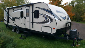 2016 272BHS Bullet camper/travel trailer