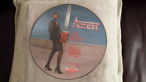 ACCEPT PICTURE DISC VINYL! ORIG PRESS ! MINTY !