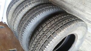 For sale 4 winter tires 245/75/16
