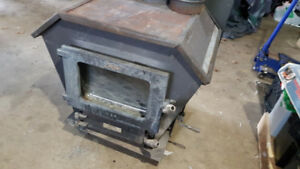 Wood stove with csa stamp