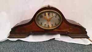 Old electric clock by Warren Telechron  Co.