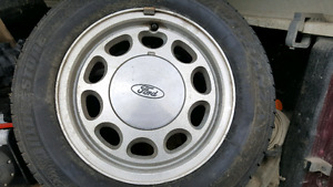 Ford mustang rims and tires