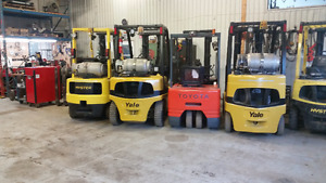 Certified Reliable Forklifts at Unbeatable Prices! Call us Today