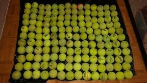 WILSON AND PENN USED TENNIS BALLS 60 PIECES FOR $25