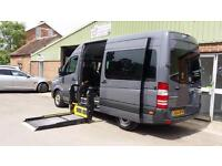 2015 Mercedes Sprinter Diesel Automatic Disabled Wheelchair Drive From Vehicle