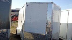 """2016 Look 7x16' Enclosed Cargo trailer + 6"""" extra height"""