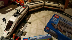 Lego Train Set 60051 with Extra Tracks