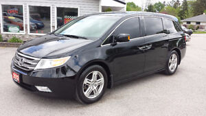 2012 Honda Odyssey Touring 54,000kms!! One owner! Navi, Roof,DVD