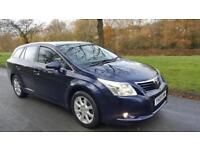 Toyota Avensis 2.2D-4D (150bhp) TR, ESTATE,FACE LIFT MODEL,SERVICE HISTORY